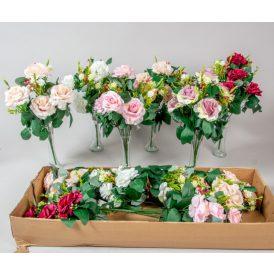 Rózsa csokor 7v. 12b/karton Egész/fél kartonra rendelhető!