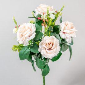 Rózsa csokor 6v. M43cm 12db/#