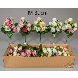Rózsa, margaréta csokor 12v. 12db/karton Egész/fél kartonra rendelhető!
