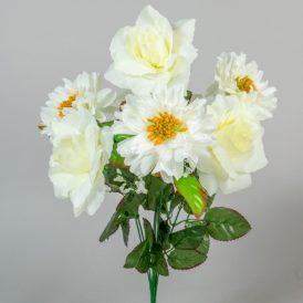 Rózsa,dália csokor 7v. 18db/karton Egész/fél kartonra rendelhető!
