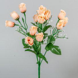 Rózsabimbó csokor 15v. M34cm 48db/#
