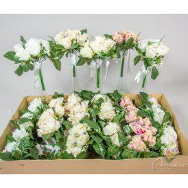 Rózsa köteg masnival 7v. M28cm 24db/#