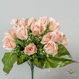 Rózsa csokor 18v. M40cm 12db/#