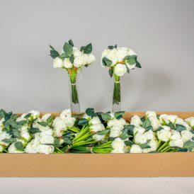 Rózsa köteg 12v. M23cm 12db/#