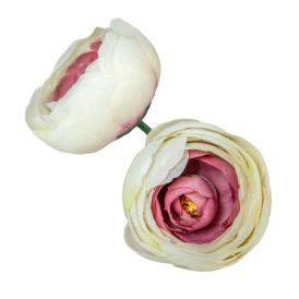 Boglárka virágfej 327 D6cm 24db/csom