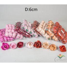 Boglárka virágfej 24db/szín/csom