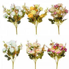 Rózsa csokor 10v. 24db/karton Egész/fél kartonra rendelhető!