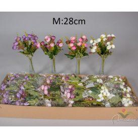 Boglárka csokor 5v. M28cm 36db/#