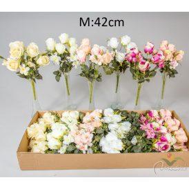 Rózsa csokor 9v. 24db/karton Egész/fél kartonra rendelhető!