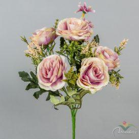 Rózsa csokor 5v. M32cm 24db/#