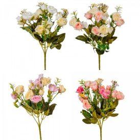 Rózsa csokor 10v. M29cm 36db/#