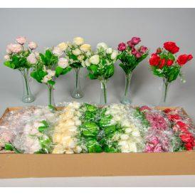 Rózsa csokor 10v. M30cm 36db/#