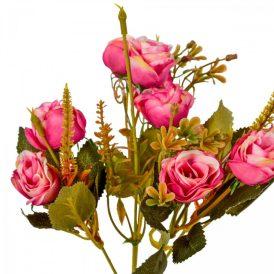 Rózsa csokor 10v. M31cm 48db/#