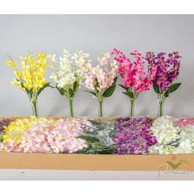 Virágos csokor 6v. M45cm 48db/#