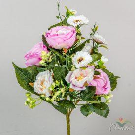 Rózsa csokor 6v. M30cm 30db/#
