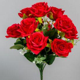 Rózsa csokor 12v. M35cm 24db/#