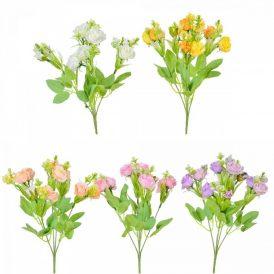 Rózsa csokor 10v. M33cm 48db/#