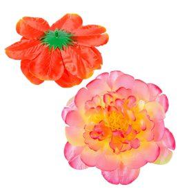 Dália virágfej szatén  mix 72db/karton Egész kartonra rendelhető!