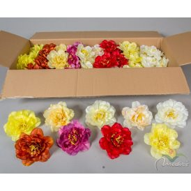 Dália virágfej szatén vegyes  72db/karton Egész kartonra rendelhető!
