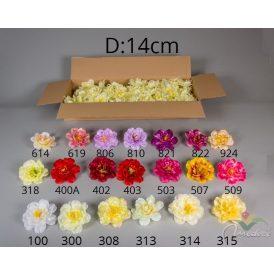 Dália virágfej szatén 72db/karton Egész kartonr a rendelhető!