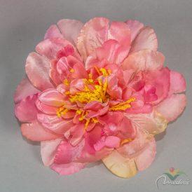 Dália virágfej szatén 72db/ #