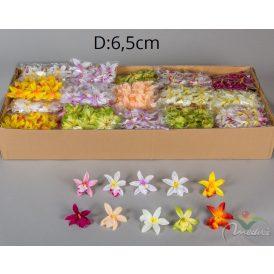 Orchidea virágfej mini 48db/csom 1440db/karton Egész/fél kartonra rendelhető!