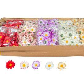 Margaréta virágfej  mini 48db/szín/csom Egész csomagra rendelhető!