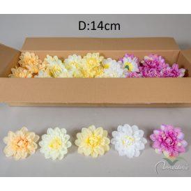 Dália fejvirág 12db/szín/csom Egész csomagra rendelhető!