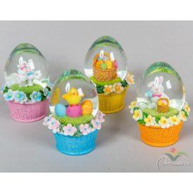 Húsvéti rázó tojás  kosár alapon M12cm