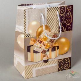 Papír tasak ajándék+lufi 18x23cm