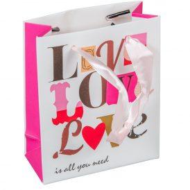 Papírtasak LOVE 11x14cm