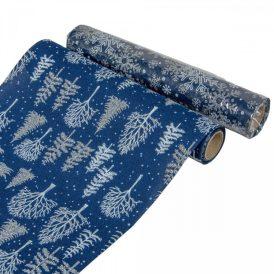 Dekor tekercs kék-fehér 28x200cm