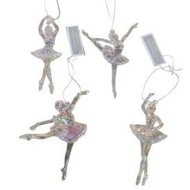 Akasztós műanyag ballerina 14cm