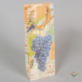 Papír italtasak kék szőlőfürt 36x13cm