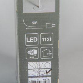 112 LED-es fa adapteres meleg M90cm