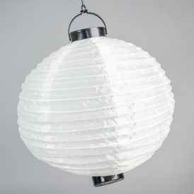 Ledes organza lampion krém 30cm