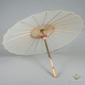 Organza esernyő krém D80cm M53cm