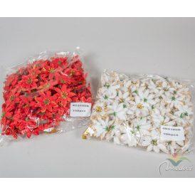 Mikulás virágfej aranyozott D6cm 100db/csom (db ár)