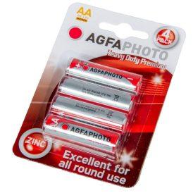AgfaPhotos Heavy Duty prémium féltartós  ceruza elem AA B4 4db/csom