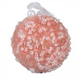 Cukormintás gömb cukorka rózsaszín 8cm