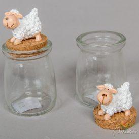Üvegcse bárányos dugóval M:11cm