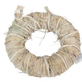 Koszorú háncs fehér 8*30cm