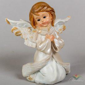 Térdeplő angyal M12cm