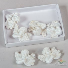 Agyal lanttal fehér 3cm 6db-os