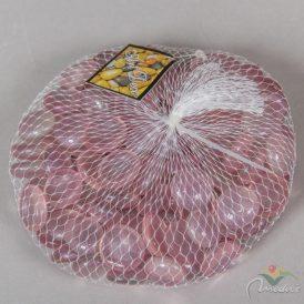 Dekor üveg kavics rózsaszín 19mm 500 gr.