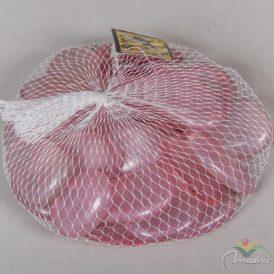 Dekor üveg kavics rózsaszín  40mm 500gr.