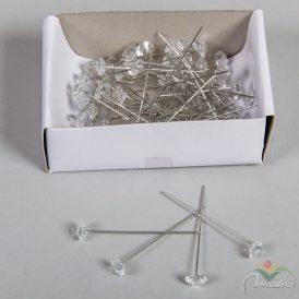 Dekor dísztű gyémánt kristállyal  8mmx5,3cm 72db-os