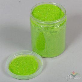 Dekor homok mikro LIME 0,6-0,8 tégelyben 900gr