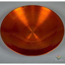 Fém tál bronz D36cm