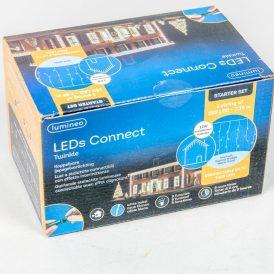 250 LED-es jégcsap adapteres hideg